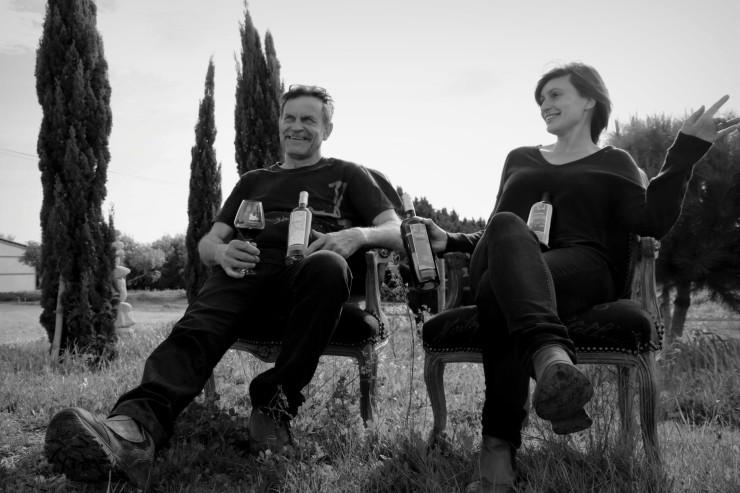 Anaïs et Yves Ricome de la Croix Gratiot présentent leur édition limitée de la gamme les gourmands