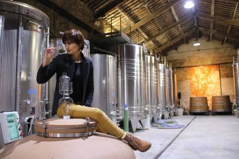 La Croix Gratiot, Domaine viticole, Anaïs et Yves Ricome, Chai, Vin, Picpoul de Pinet, Aop Languedoc, biodynami